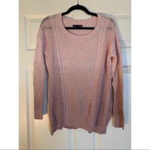 Pink Ombré Knit Sweater